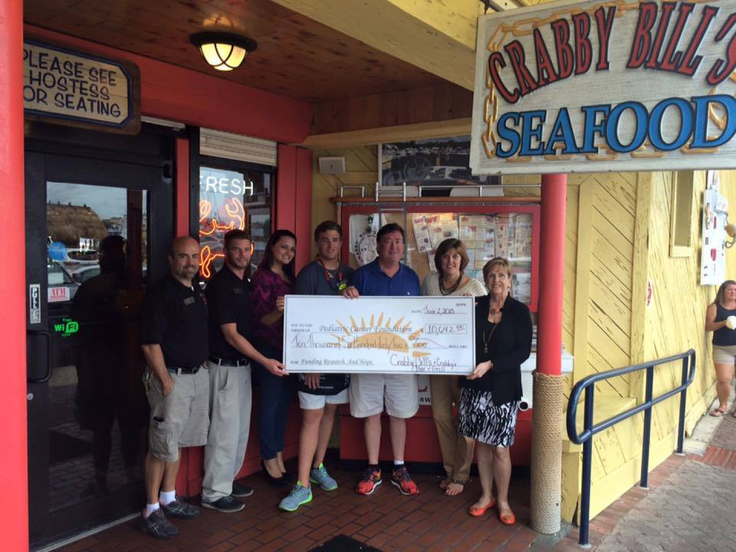 2015-6 Crabby's and PCF